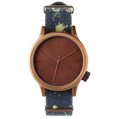 Men's Wrist Watches - Komono Watch  Magnus Print  Acid Denim ** Continue to the product at the image link.
