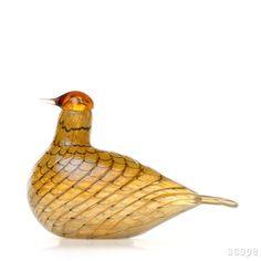 iittala Birds by Oiva Toikka Summer Grouse. Grouse, Glass Birds, Fall Decorating, Autumn, Summer, Design, Drinkware, Kunst, Summer Time