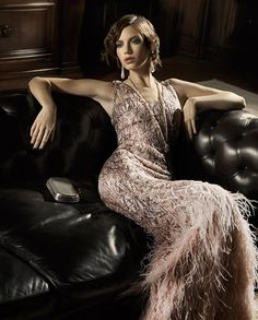 Roaring Twenties - Gatsby girl for Ladies magazine 2013.