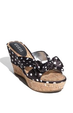 Polka Dot Slides (to go with that polka dot dress i have repinned in My Style