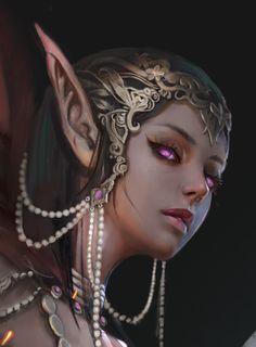 Elves fantasy, fantasy rpg, fantasy world, fantasy artwork, character por. Elfen Fantasy, Fantasy Rpg, Fantasy Artwork, Dark Fantasy, Fantasy Girl, Fantasy Art Women, Elf Characters, Fantasy Characters, Fantasy Inspiration