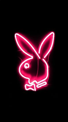 Pink play boy neon sign wallpaper for iPhone 🐰 Pink Neon Wallpaper, Bad Girl Wallpaper, Trippy Wallpaper, Aesthetic Pastel Wallpaper, Iphone Background Wallpaper, Retro Wallpaper, Aesthetic Wallpapers, Iphone Backgrounds, Pink Lock Screen Wallpaper