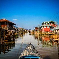 Cruising around the fascinating Inle Lake, Myanmar. A special experience we'll never forget.  ••••••••••••••••••••••••••••••••••••••••• WorldlyNomads.com •••••••••••••••••••••••••••••••••••••••••