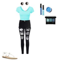 """Kaya"" by alexaw-2 on Polyvore featuring LE3NO, Glamorous, Accessorize, Butter London, Lime Crime and Blowfish"
