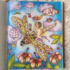 #klaramarkova #magicaldelights #adultcoloring #prismacolors #repost #pencilart #pencil #coloring #colouring #instagram #kleurenvoorvolwassenen #kleurboek