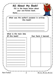 Free generic worksheets for guided reading!
