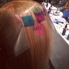 Instagram Hair Color Placement, Hair Stenciling, Futuristic Hair, Pixel Color, Hollywood Hair, Fantasy Hair, Color Melting, Pastel Hair, Hair Photo