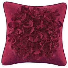 LUV it. I pinned this Flower Pillow from the Bedroom on a Budget event at Joss and Main!