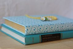 Fabric covered book #DIY #craft  .