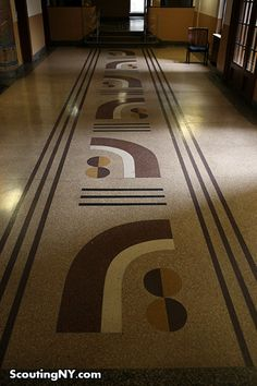 Scouting art deco apartment building lobbies in The Bronx.