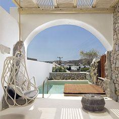 Strandhotel Kensho Boutique Hotel and Suites - Ornos, Griechenland