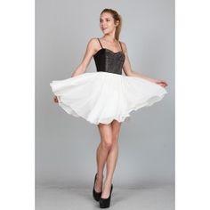 http://www.salediem.com/shop-by-size/small/tube-dress.html Sale Diem  #salediem #blackandwhite #fashion