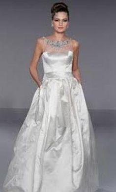 Priscilla of Boston 4509, PreOwnedWeddingDresses.com Listing 43367, $3500