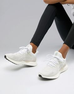 huge selection of 95118 abbc0 adidas Running Alphabounce Sneakers In White