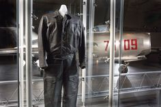 On March 5, 1953, Polish Air Force pilot Lt. Franciszek Jarecki defected in a MiG-15 by flying to Bornholm, Denmark. It was the first intact MiG to reach the West. Jarecki wore this flight suit during his daring flight to freedom.