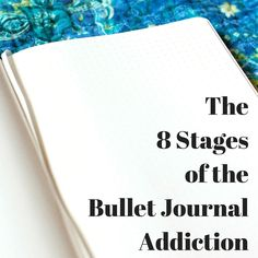 Over time I've seen many new Bullet Journalists fly into a series of stages  when it comes to finding their footing with the Bullet Journal. Sometimes  all the stages are taken, sometimes they dive into one and jump  around, some skip some of the stages altogether. It is really pretty  fascinati