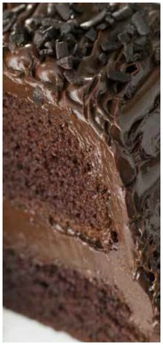 Fashioned Chocolate Buttermilk Cake Old Fashioned Chocolate Buttermilk Cake ~ So moist your guests will think it came from a bakery!Old Fashioned Chocolate Buttermilk Cake ~ So moist your guests will think it came from a bakery! Sweet Recipes, Cake Recipes, Dessert Recipes, Food Cakes, Cupcake Cakes, Cupcakes, Just Desserts, Delicious Desserts, Gourmet Desserts
