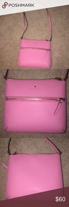 Kate spade satchel hot pink Kate spade satchel worn ONCE. Still has original tissue paper in the inside kate spade Bags Satchels