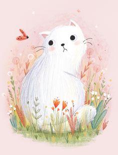 "Lucy Fleming, ""Lumpy Cat"""