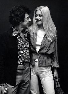 Frankie Valli And Mary Delgado