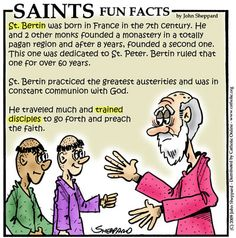 St. Bertin | Angels and Saints