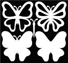 butterfly SVG files and a great sample card on the page.Free butterfly SVG files and a great sample card on the page. Butterfly Template, Flower Template, Butterfly Stencil, Crown Template, Heart Template, Paper Butterflies, Paper Flowers, Diy And Crafts, Paper Crafts