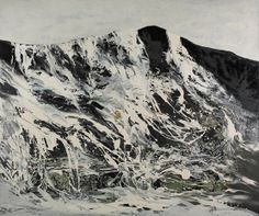 'Mountain Peaks' by Richard Harrison. This painting was exhibited in the John Moores Painting Prize 2010 exhibition at the Walker Art Gallery. http://www.liverpoolmuseums.org.uk/walker/johnmoores/recent-exhibitions/jm2010/exhibitors/harrison.aspx