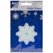 Joy! Crafts Cut & Emboss Die - Ice Crystal 3, 2.5 X2.5