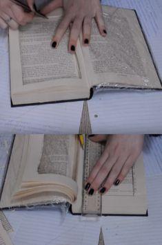 Boite secrète dans un livre