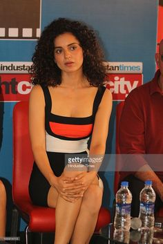 Indian Bollywood actor Kangna Ranaut during an exclusive interview... News Photo | Getty Images