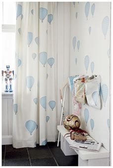 Love Hot Air Balloons Balloon Curtains Bedroom D Baby Kids