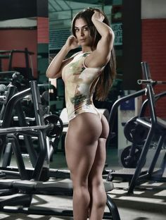 JUICY, MUSCULAR AMAZON GODDESS BODY of Paraguayan #Fitness model Fabiola (Fabi) Martinez : if you LOVE Health, Inspirational Physiques & Fitspo - you'll LOVE the #Motivational designs at CageCult Fashion: http://cagecult.com/mma