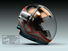 THE MARTIAN - Mars Environment Suit by costume designer Janty Yates.Close-up shots were critical for playing up the drama and emotion in a movie. Each crystal visor of each helmet had to be flawless. - Concept art by Dan Walker The Martian Film, Astronaut Helmet, Helmet Design, Motorcycle Helmets, Women Motorcycle, Elmo, Concept Art, Sci Fi, The Incredibles