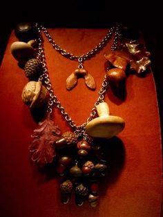 334 - Autumn Necklace by JAR Paris, 1999 - Wood, gold #JAR #JARJewels #JARParis #JoelArthurRosenthal