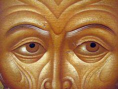 """Слово - изографам"" | ВКонтакте My Vibe, Illuminated Manuscript, Mosaic, Saints, Eyes, Detail, Face, Painting, Inspiration"