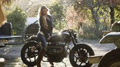 BMW R80 Indira motorcycle   by Ton-Up Garage   Fat Kids Cake