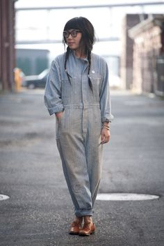 coveralls and pearls