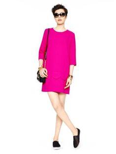 demi dress - kate spade new york - amazing colour!