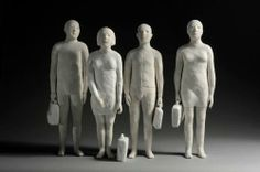 ...by Agnes Baillon * Die tägliche Dosis Culthur - Daily Dose of Art * http://nielskoschoreck.tumblr.com/ * #art #Kunst #sculpture