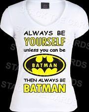 BE BATMAN NOT YOURSELF T-Shirt -retro kitsch vintage emo punk 80s rockabilly 225