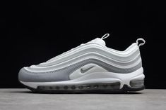 3c4462a8601 Women  s Nike Air Max 97 Ultra White Pure Platinum-Wolf Grey