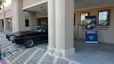 On display at the cast and crew screening for the movie, Promises.  The GTO appears in two scenes in the movie.