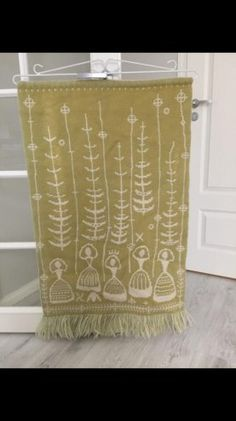 Täkänä Punch Needle, Weaving, Curtains, Shower, Wall, Prints, Design, Egg, Closure Weave