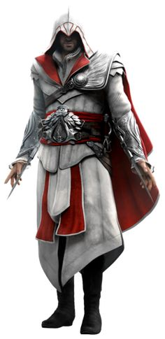 "I got Ezio Auditore da Firenze from ""Assassin's Creed II""! Which ""Assassin's Creed"" Character Are You? Assassins Creed Cosplay, The Assassin, Assassins Creed Series, Modern Assassin, Assains Creed, All Assassin's Creed, Assassin's Creed Brotherhood, Desenho Do Assassin's Creed, Assassin's Creed Wallpaper"