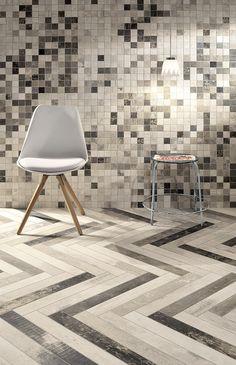 CHEVRONCHIC | Ceramiche Fioranese piastrelle in gres porcellanato per pavimenti esterni e per rivestimenti interni.