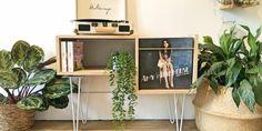 Le meuble à vinyle : le tuto