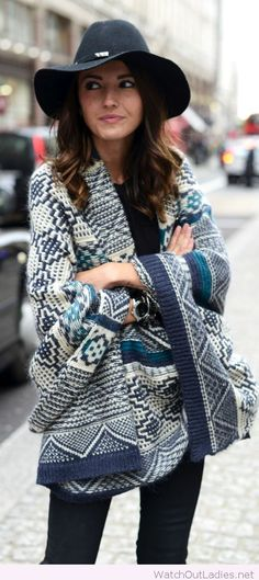 Fashion cardigan, love the print and the design