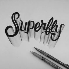 We're kicking off yet another creative week with a new inspiration gallery with great lettering, calligraphy and typography work. Everybody is free to submit ar Hand Lettering Fonts, Creative Lettering, Graffiti Lettering, Lettering Styles, Typography Letters, Brush Lettering, Lettering Design, Logo Design, Text Fonts