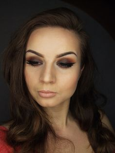 'Inspired  by Jaclyn Hill' look by Justyna Kolodziej using Makeup Geek's Bitten and Drama Queen eyeshadows.