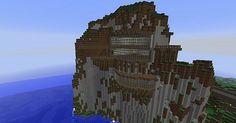 mountain house minecraft 04